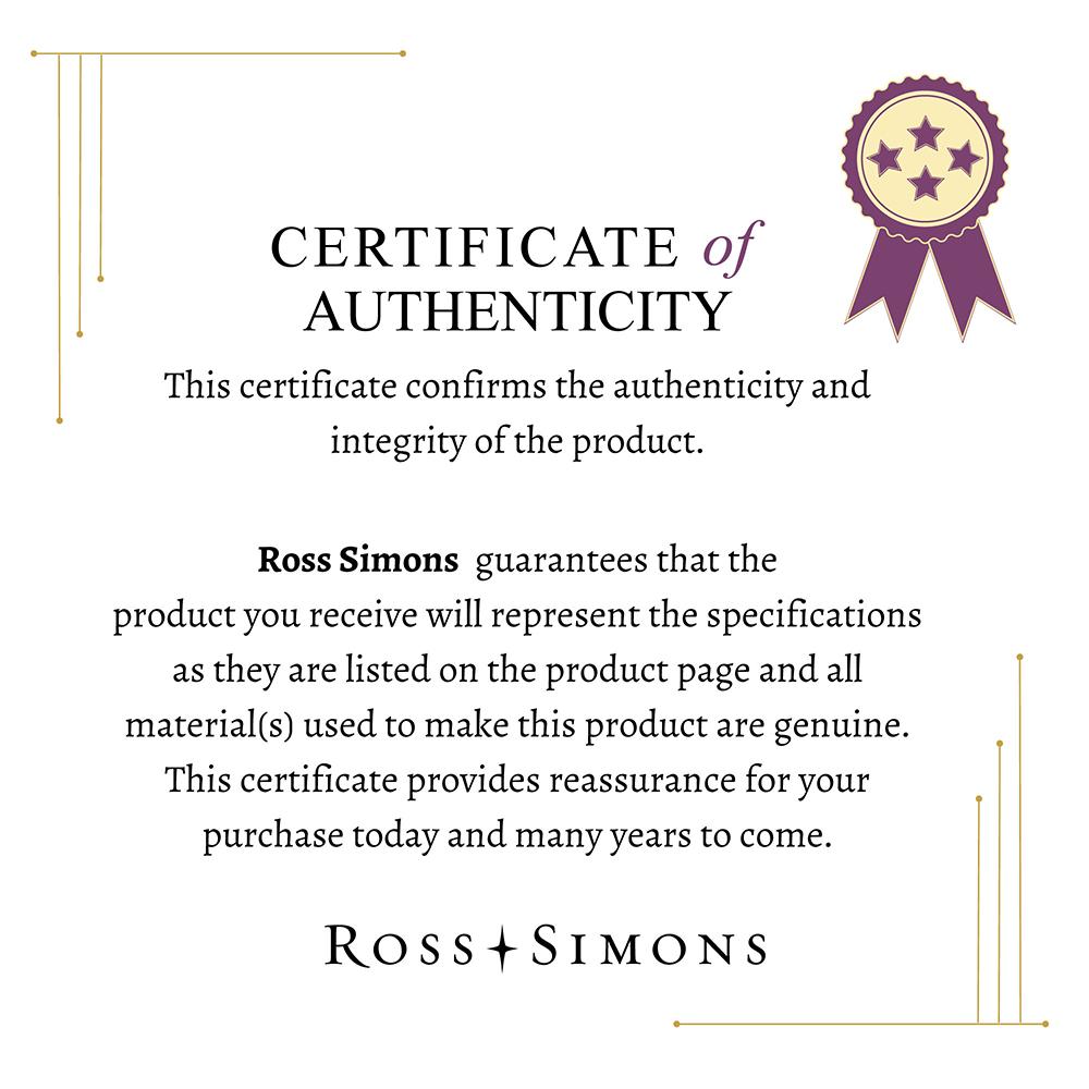 Ross-Simons-Italian-18kt-Gold-Bamboo-Style-Bangle-Bracelet thumbnail 2